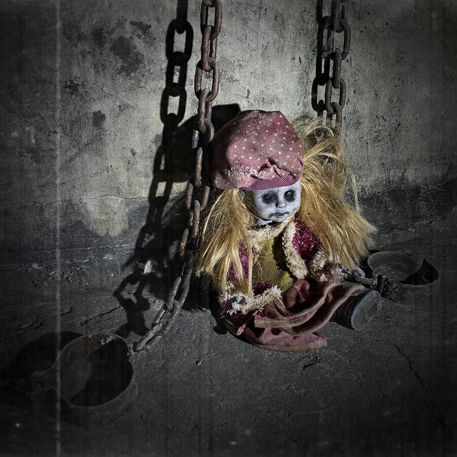 El orfanato embrujado es un escape room de Enigma Rooms.
